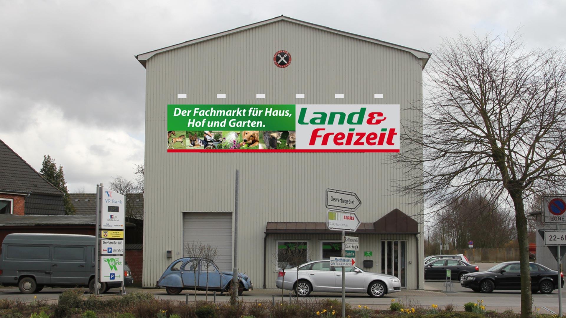 Schilderdruck und Montage für Land & Freizeit