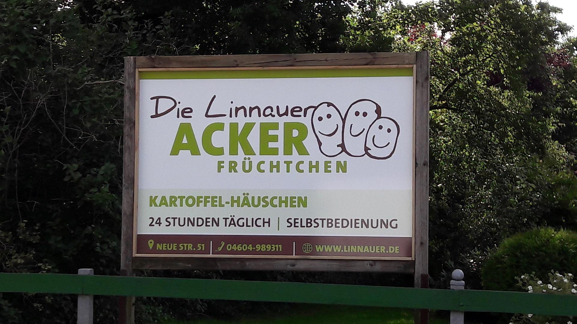 Schilderdruck für Die Linnauer Ackerfrüchtchen